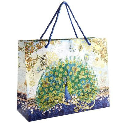 Jumbo Wedding Gift Bags : 123 Best images about PEACOCK acc purses/bags white on Pinterest ...