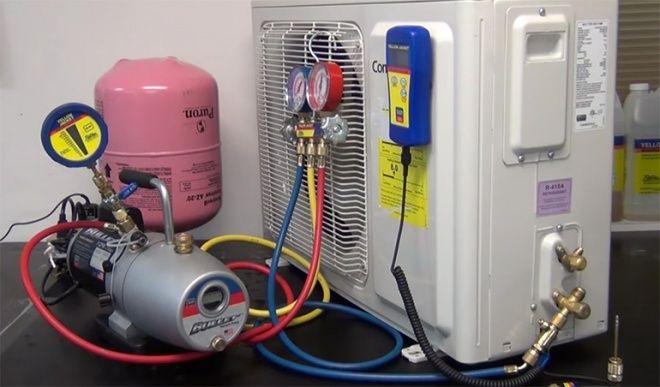 La Técnica Del Vacío En Los Sistemas De Aire Acondicionado Acondicionado Aire Acondicionado Mantenimiento De Aire Acondicionado