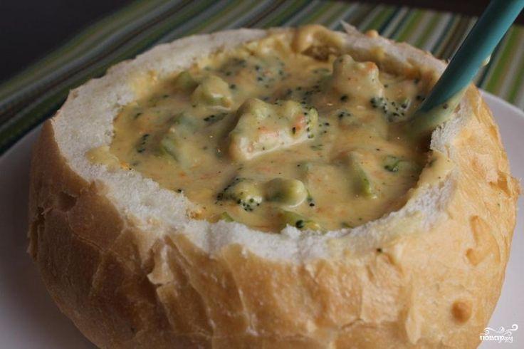 Сырный суп из российского сыра