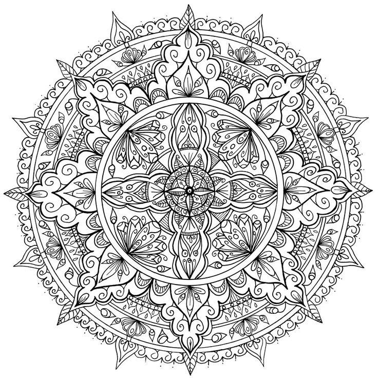 petals mandala by welshpixie deviantart