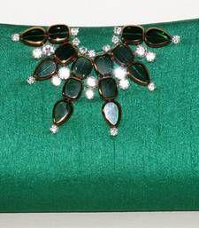 Buy Indo Western Art silk Clutch Purse clutch online