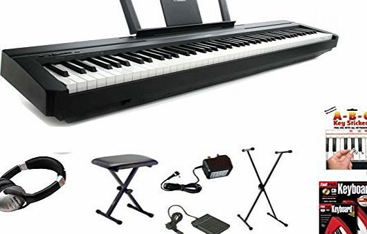 Yamaha P45 Digital 88 Weighted Key Stage Piano Deluxe Package (P-45 P 45) No description (Barcode EAN = 5060231855089). http://www.comparestoreprices.co.uk/december-2016-week-1-b/yamaha-p45-digital-88-weighted-key-stage-piano-deluxe-package-p-45-p-45-.asp