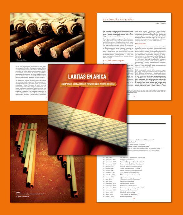 Diseño Editorial Para libro de registro arqueológico Lakitas de Arica