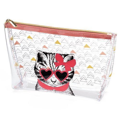 Tri-Coastal Design Clear Cosmetic Bag