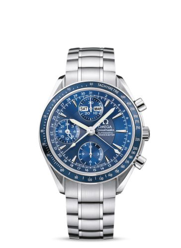 3222.80.00 : Omega Speedmaster Day-Date Blue