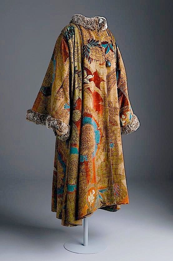 Fortuny Coat; site has very interesting article on the background of Fortuny's (very artistic) family and some very good photographs.