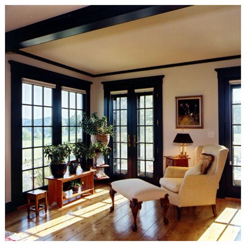 Love the floor to ceiling windows and the french doors for Floor to ceiling windows for sale