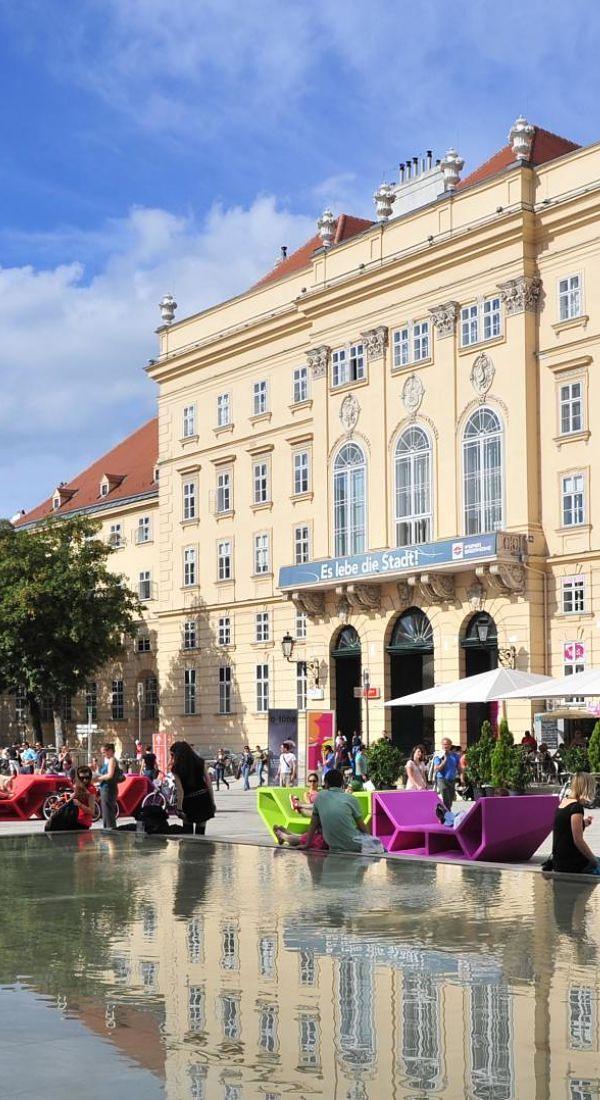 Museumsquartier - Vienna, Austria