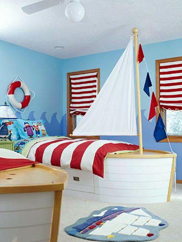 Nos idées déco chambre garçon , des designs différents fêtent avec beaucoup d'imagination pour votre petit garçon pour ces beaux rêves et bon goût