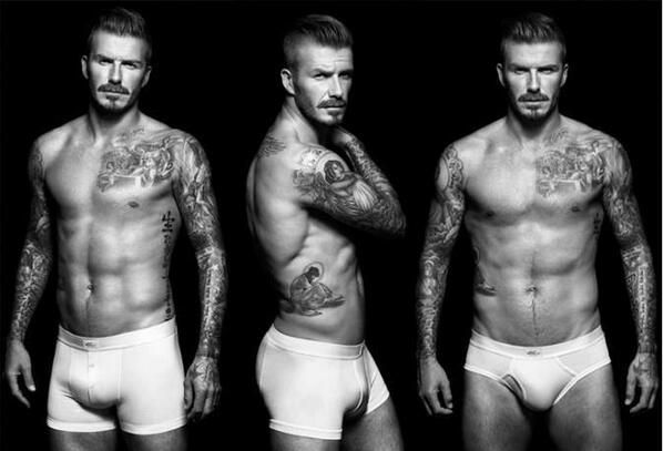 David Beckham- does my laundry in his underwear, paints my toenails