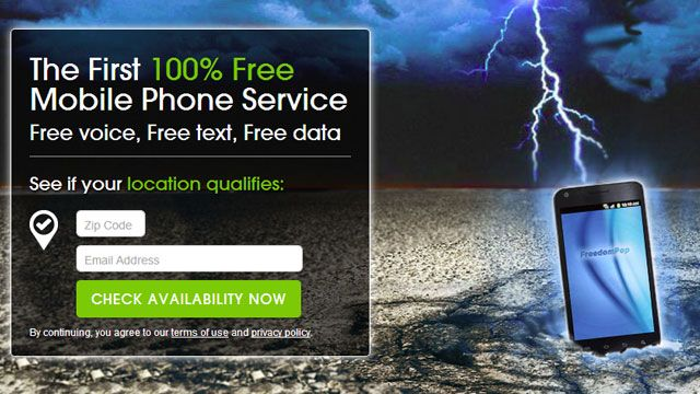 FreedomPop Now Offers Completely Free Mobile Phone Service (200 minutes of voice, 500 texts, 500MB data a month)