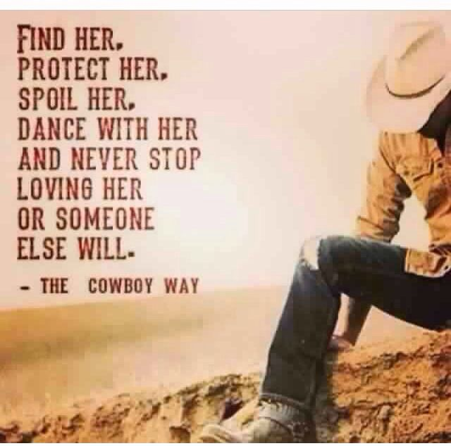 Find her. Protect her. Spoil her. Dance with her and never stop loving her or someone else will.