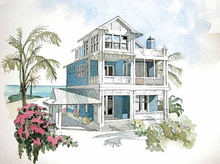 17 best images about cottages floor plans on pinterest for Beach house plans with elevator
