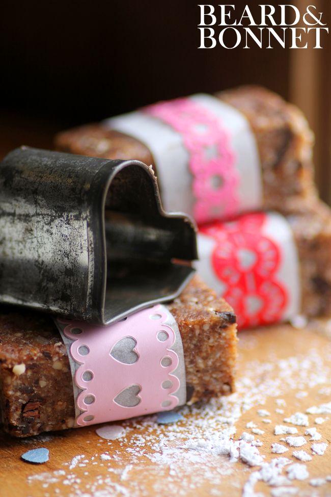 Heart Healthy Almond Joy Raw Bars {Beard and Bonnet} #glutenfree #raw #vegan