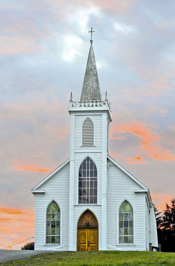 Saint Teresa of Avila Church in Bodega, California