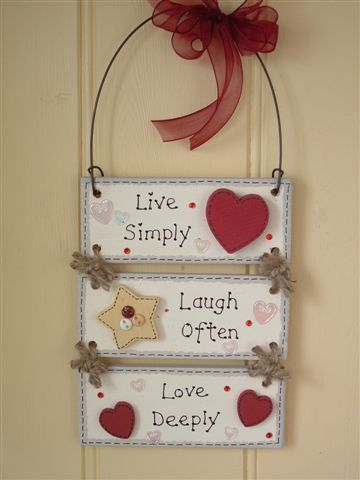 Dizzy Dots - Hand crafted, personalised, wooden plaques and signs