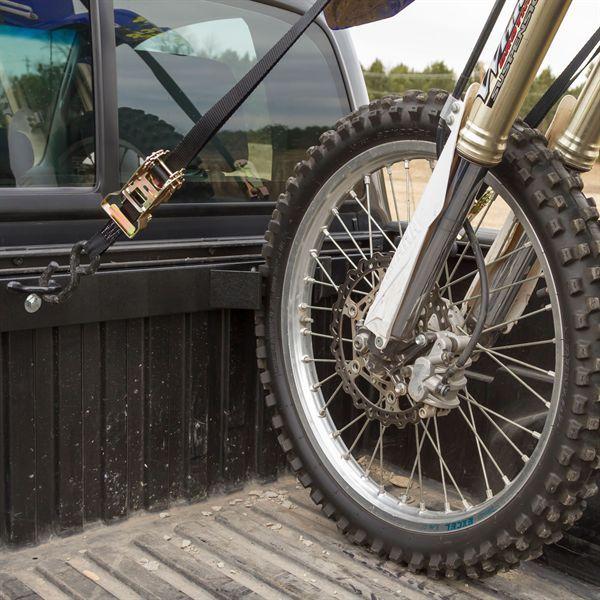 Black Widow Motorcycle Tie Down Rack For Pickups Dirt