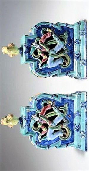 Vally Wieselthier (österreichisch, 1895 - 1945) Titel:     Große Pokalvase , 1922 - 1927  Medium:     faience Größe:     36,3 cm (14,3 in)