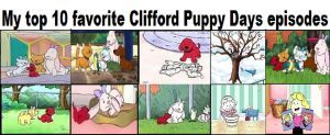 My top 10 favorite Clifford Puppy Days episodes by arvinsharifzadeh