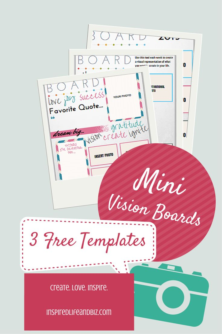 25 unique vision board template ideas on pinterest for Vision board templates free