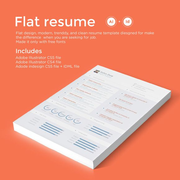 7 Tips for Designing the Perfect Resume | Creative Market #RealWorldTips #PostGrad #GoodToKnow #GetHired