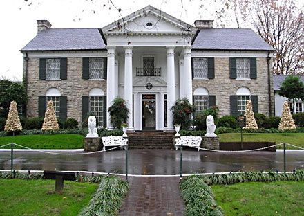 Graceland, Elvis's home, was an accomplishment itself. It is a huge mansion and now is open to the public for touring and so forth. The 30th anniversary of his death helped greaten attendence and merchandise sales at Graceland in 2007. Another accomplishment of Elvis' is that he was inducted into the Rock And Roll Hall Of Fame in the year 1986, the first year that The Hall of Fame had inductees.