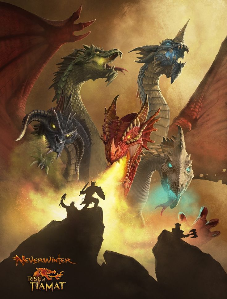 NEVERWINTER: RISE OF TIAMAT COMING TO XBOX ONE !