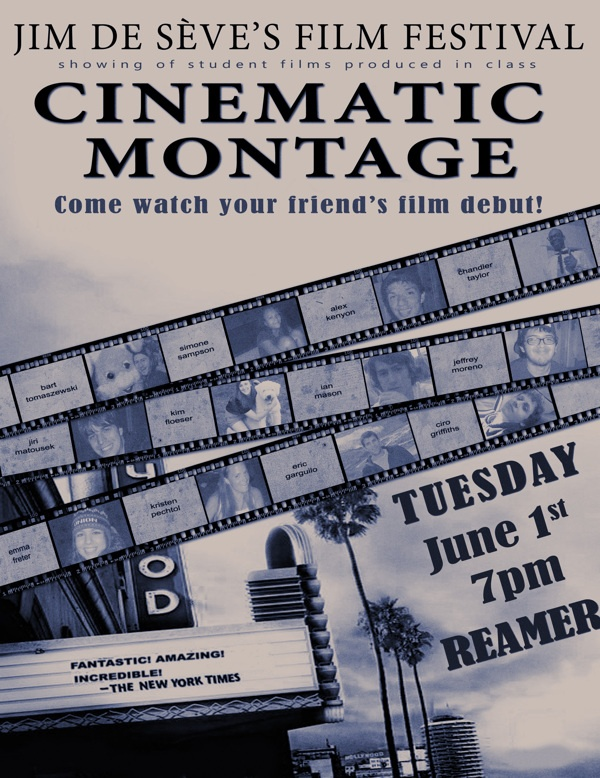 Cinematic Montage poster - Union College