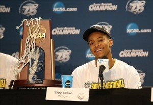 Michigan star point guard Trey Burke named 2013 AP Player of the Year