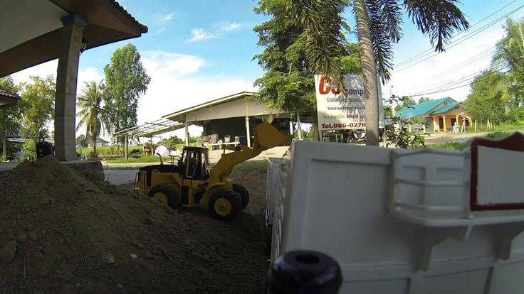 Bruder | Byggmaskiner | Hitachi hjullastare arbets