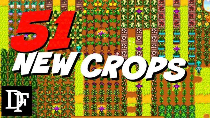 New Crops Mod 51 New Seeds Stardew Valley Gameplay Hd Stardew Valley Stardew Valley Farms Valley