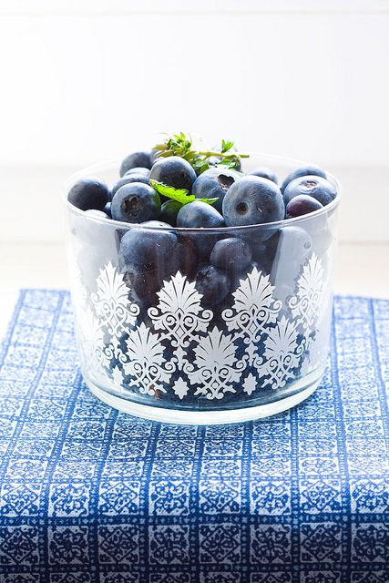 berries in the glass by a_krol, via Flickr