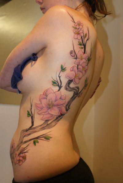 Cseresznyevirág a tetoválásban - Tat2Max