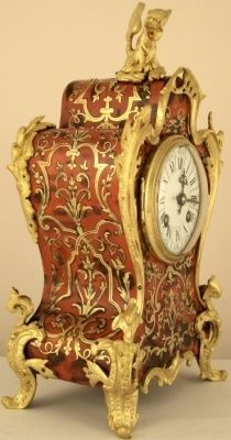 French Andre Boulle mantle clock.