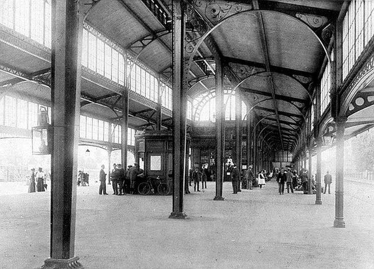 Park Station circa 1900 (With acknowledgement to Friedel Hansen)