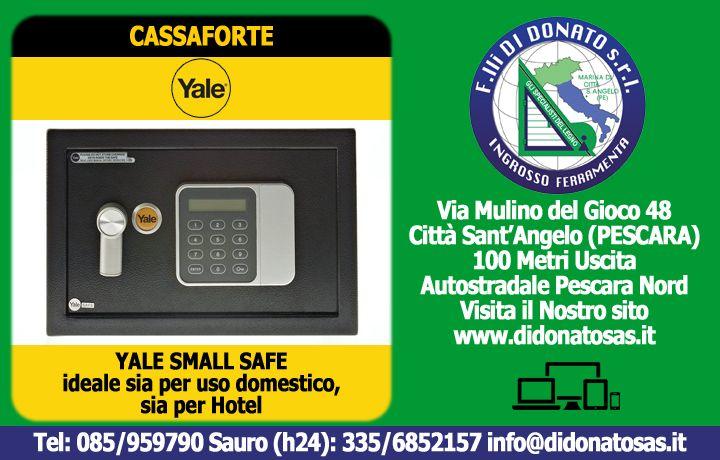 F.lli Di Donato | Scopri la Cassaforte YALE Small Safe: la TUA Soluzione Ideale