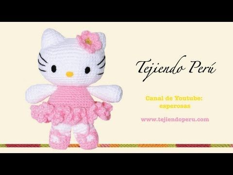 Gatita Hello Kitty - Tejiendo Perú