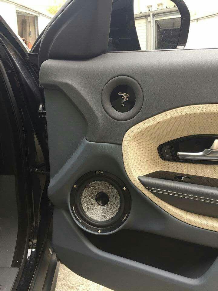 Focal Door Build In A Range Rover Car Audio Instalations