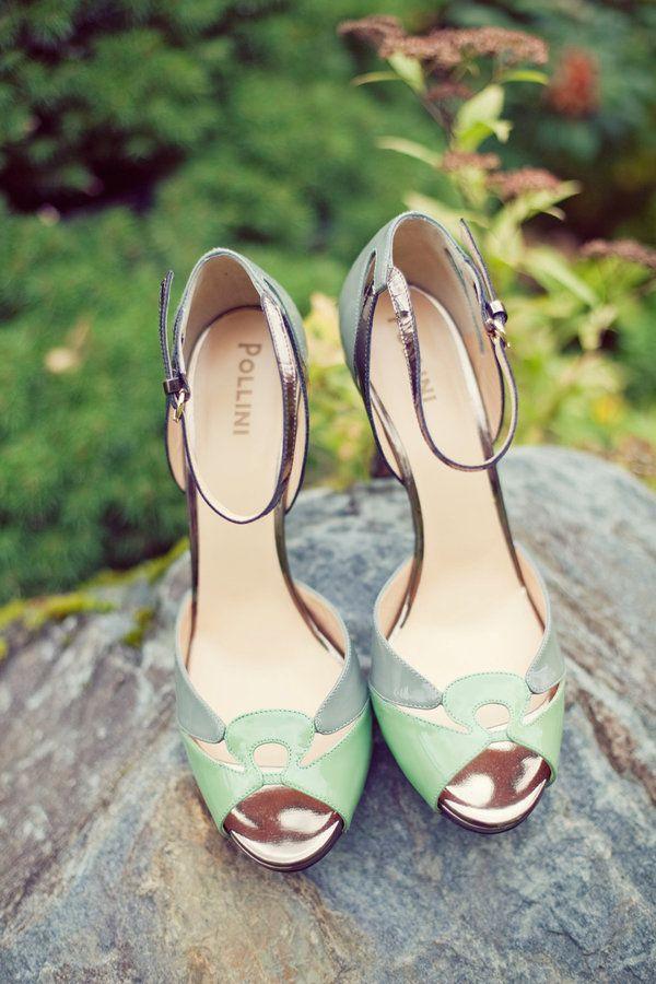 72 best mint green shoes images on Pinterest