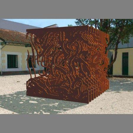 corten sculpture kunstwerk