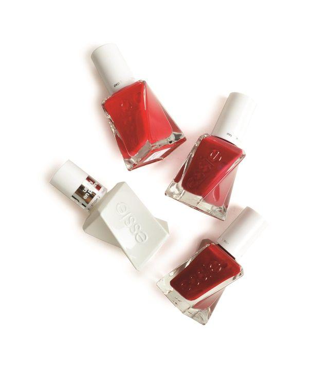 Essie Gel Couture Scarlet Starlet Reds Gel Manicure Vancouver Wa