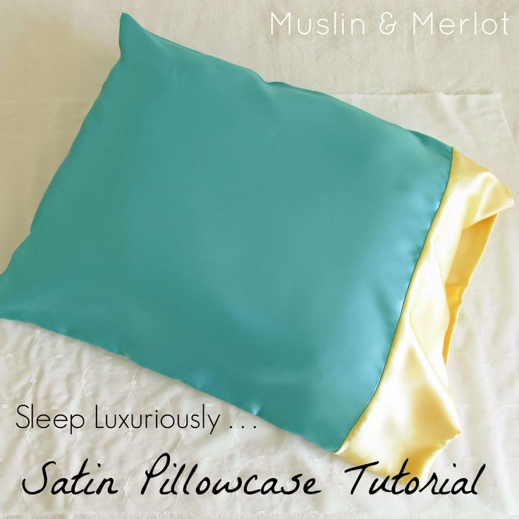 Have you read Eleanor & Park by Rainbow Rowell? It's a charming book. At one point, Eleanor is told to use a satin pillowcase to keep her curly hair from drying out. Follow these instructions to make your own satin pillowcase! And read the book!