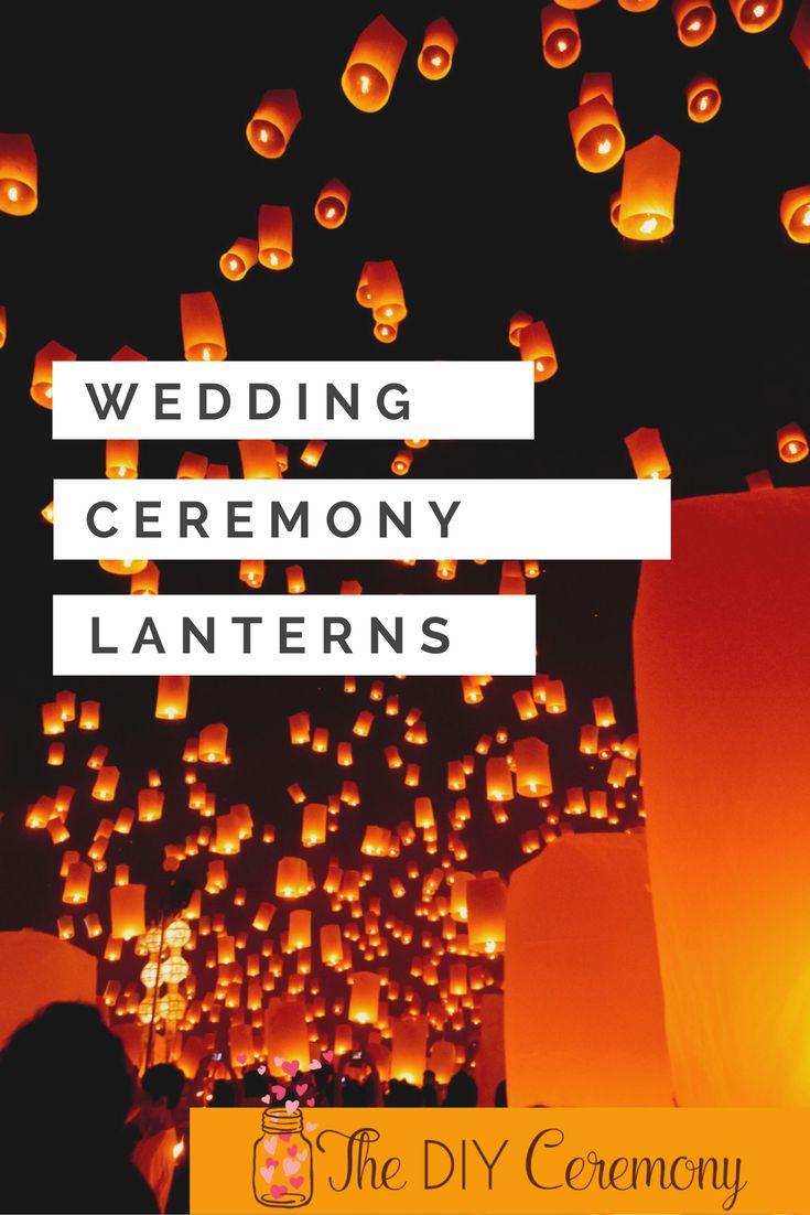Wedding ceremony scripts for officiant - Sky Lanterns Wedding Ritual