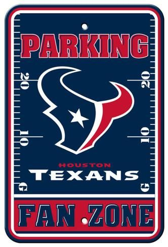 NFL Houston Texans Parking Sign Wall Sign at AllPosters.com