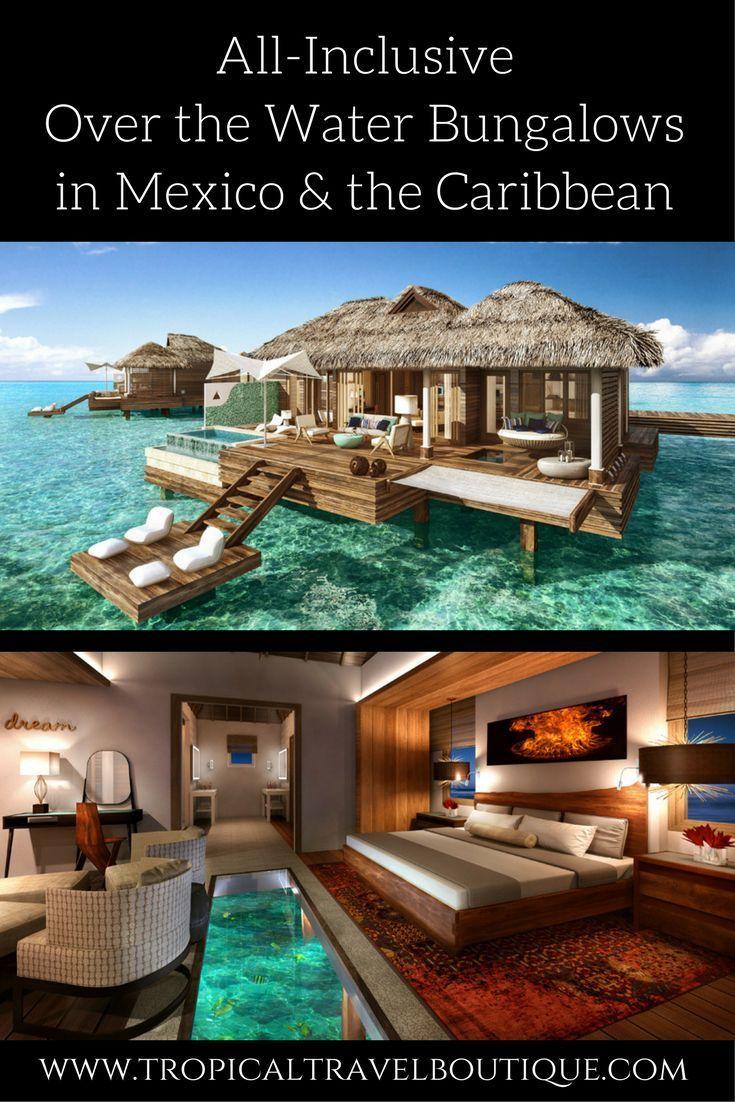 ¡No es necesario ir a Tahití! Preciosos bungalows sobre el agua ahora están disponibles en …