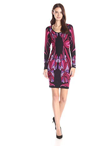 Plenty by Tracy Reese Dresses Women's Felicity Nouveau Floral Sweater Dress - http://darrenblogs.com/2016/01/plenty-by-tracy-reese-dresses-womens-felicity-nouveau-floral-sweater-dress/