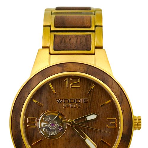 2020 Matte Gold / Walnut Wood