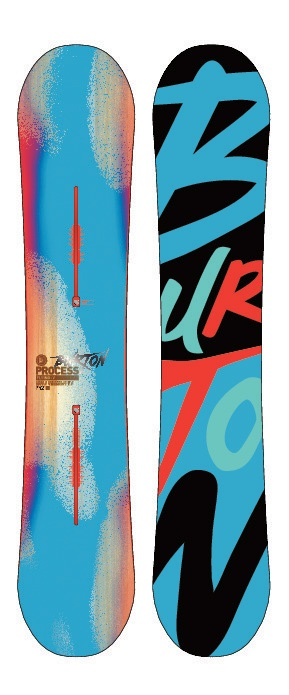Burton Process Flying V Snowboard 152 - Mens board freestyle preferred by at least 4 top pro snowboarders