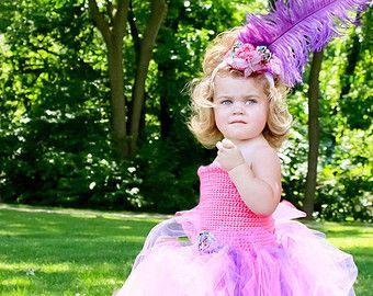 Niño Tutu vestido bebé niña Tutu vestido rosa por LilacandOlive
