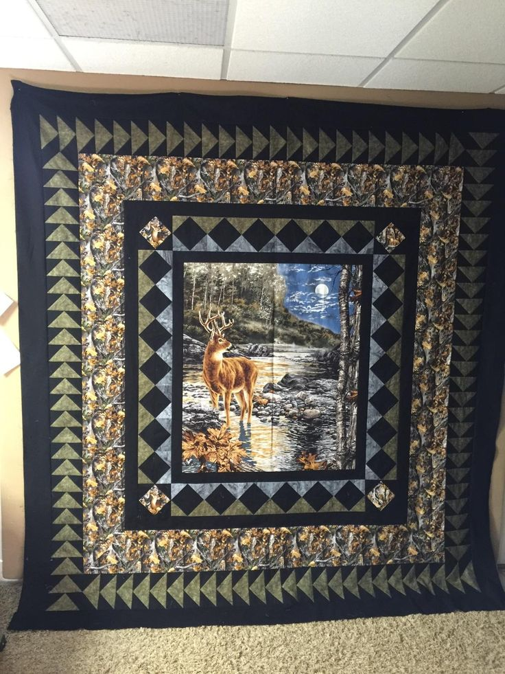 349 best Quilts Wildlife images on Pinterest | Panel quilts, Quilt ... : quilt patterns panels - Adamdwight.com